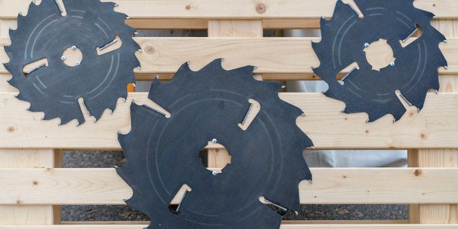 discos de corte para madera con sierras circulares