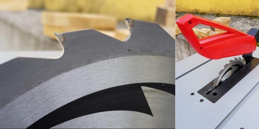 hojas de sierra de mesa para cortar madera einhell ts tc 2022