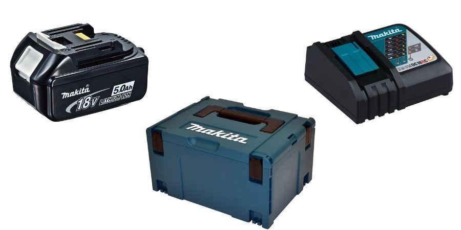 Accesorios de la cortadora eléctrica DHS680RTJ que vienen incluidos en la compra.