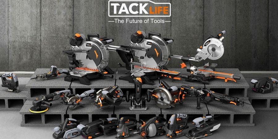 Algunos de los productos TackLife