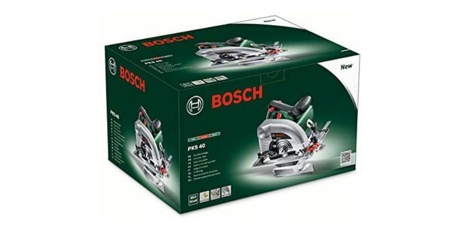 Caja de la herramienta de corte Bosch PKS 40 Upgrade