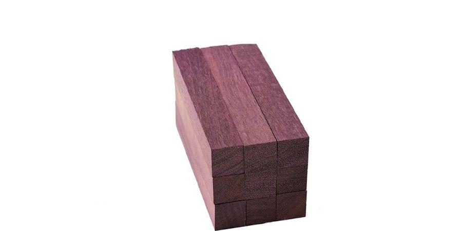 Pieza de la madera más cara del mundo conocida como Corazón púrpura