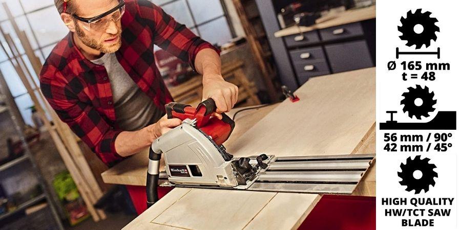 Riel de aluminio para corte perfecto