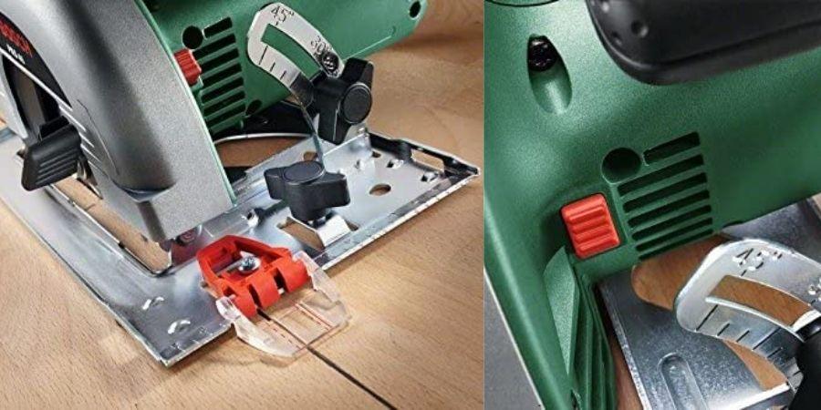 Detalles de la cortadora Circular PKS 40 Upgrade