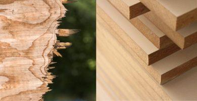 Cortar madera con sierra circular sin astillar