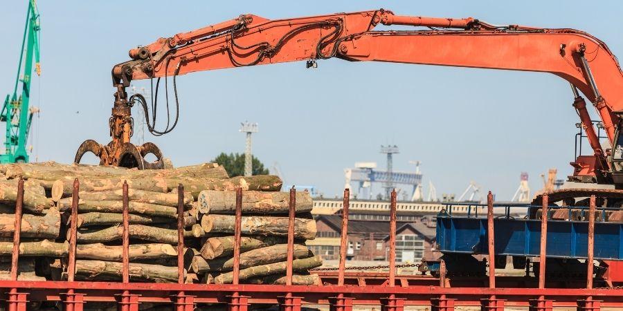 New Zealand Wood Libre comercios entre NZ y China facilita la industria de la madera